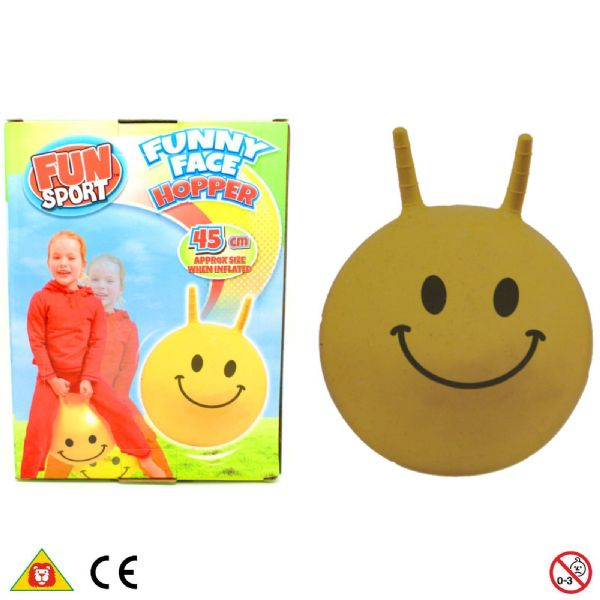 Fun Sport Funny Face Hopper space hopper 3+ Years 1373178